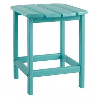 Turquoise Sundown Treasure End Table main image