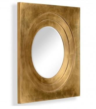 Gilded Framed Round Mirror main image