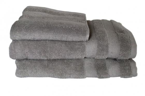 Grey Bath Towel Set main image