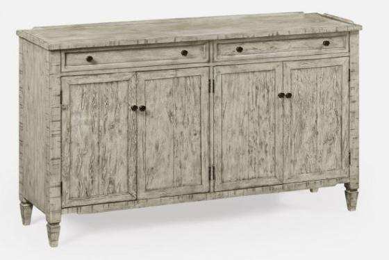 Four-Door Sideboard in Rustic Grey main image