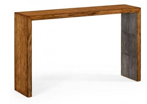 Argentinian Walnut & Anthracite Faux Shagreen Cons main image