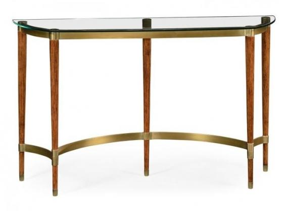 Hyedua & Glass Console Table main image