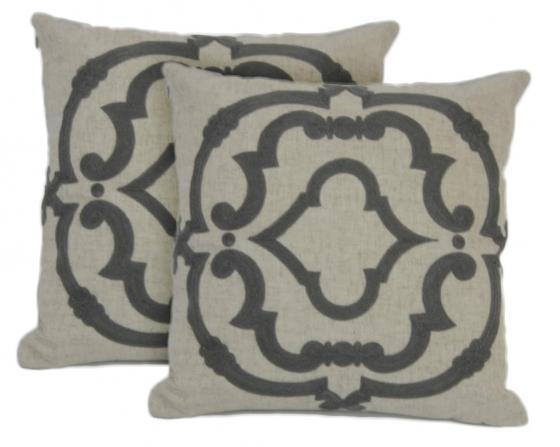 Grey Rue Serret Pillows main image