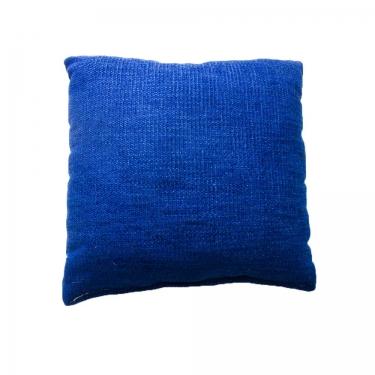 Textured Sapphire Pillow main image