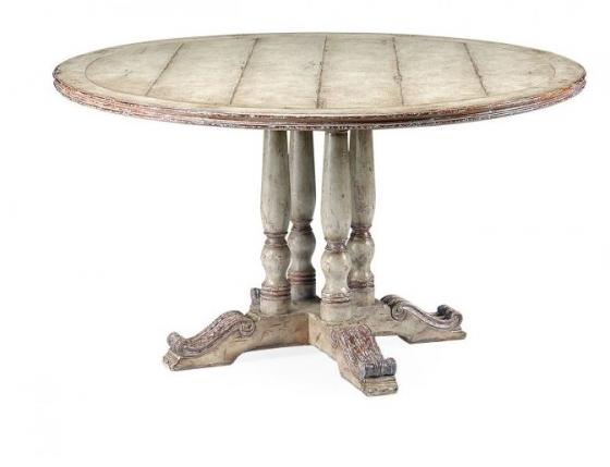 French Round Country Dining Table main image