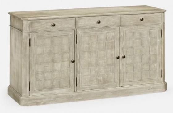 Rustic Grey Three Door Sideboard main image