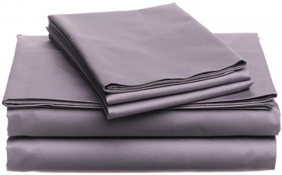 Lilac 1800 Thread Ct Queen Sheet Set (4) main image