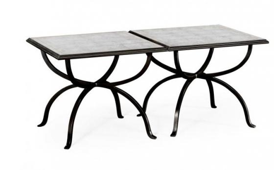 Bronze Iron Set of Two Tables main image