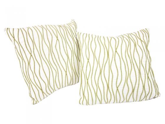Green Waves Pillows (Set of 2) main image