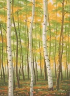 Canvas Autumn Mist Wall Art main image