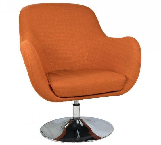 Orange Retro Swivel Chair  main image