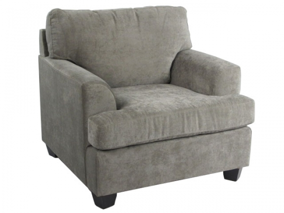 Modern Grey Club Chair main image