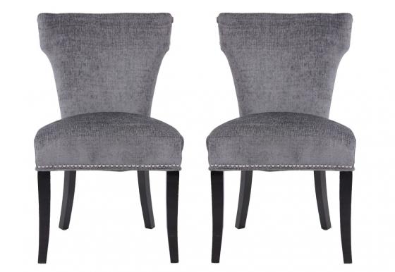 Grey Nailhead Chair (2) main image