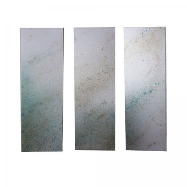 60x20 Turquoise and White Art (3) main image