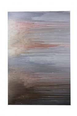 65x48 Brown and Gray Streak Art main image