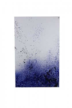 30x48 Blue and White Art main image