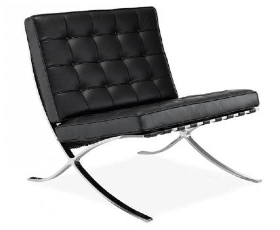 Black Barcelona Chair main image