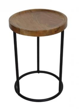 Small Wood Side Table main image