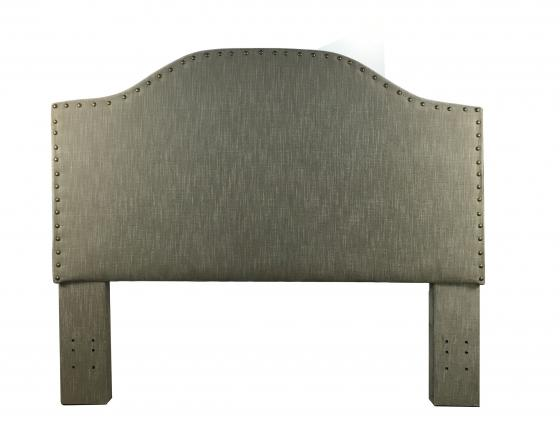 Taupe Queen Upholstered Headboard main image