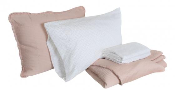 Queen Blush Bedding Set