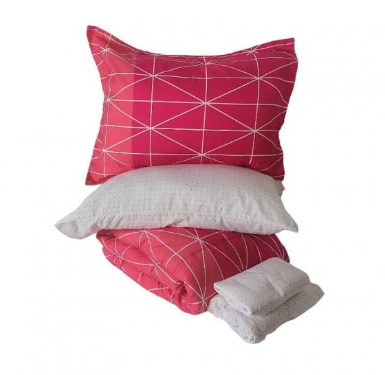 Twin Pink Bedding Set