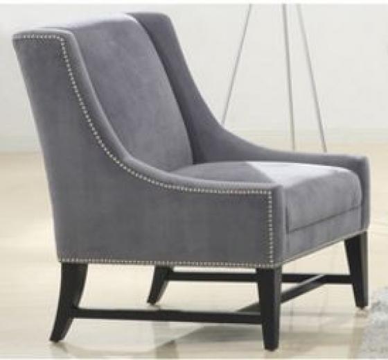 Accent Chair w/ Nailhead Trim main image