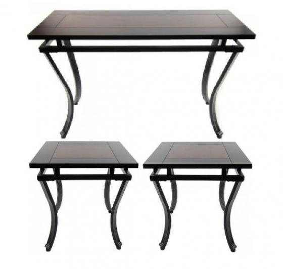 Fisher Console Table & End Table Set main image