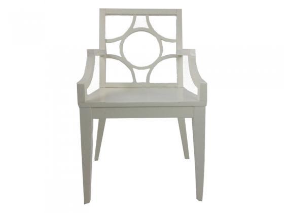 White Arm Chair main image