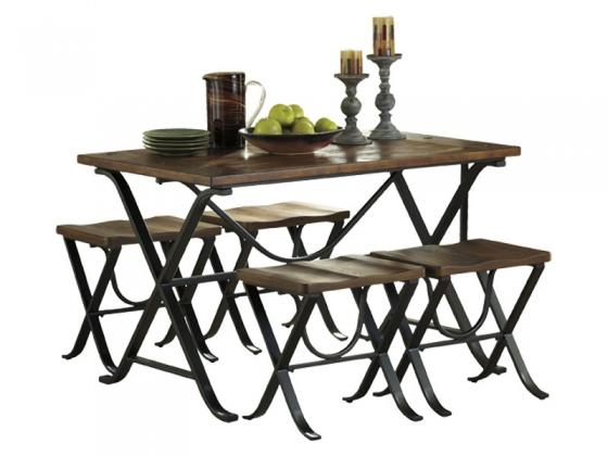 5 Pc Dining Set main image