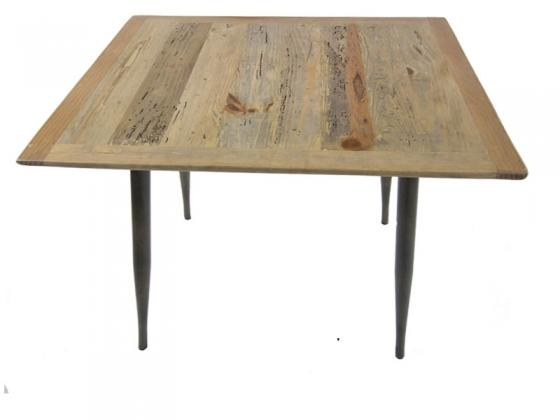 Birch Wood/Metal Accent Side Table main image