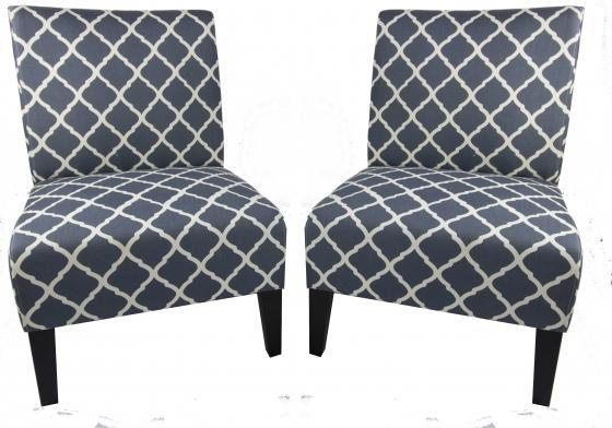 Saffron Armless Slipper Chairs main image