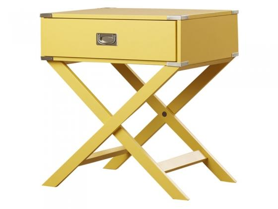 Mustard Accent End Table main image