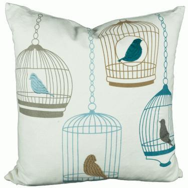 Bird cage Pillow  main image