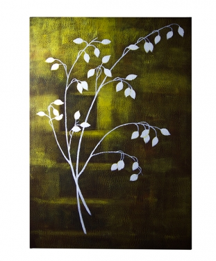 White Flower on Canvas main image