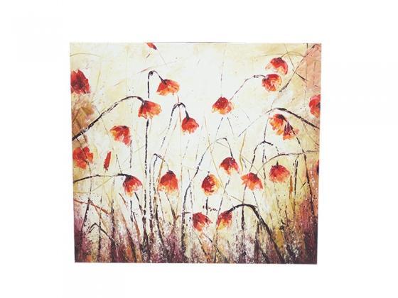 Red/orange poppy art main image
