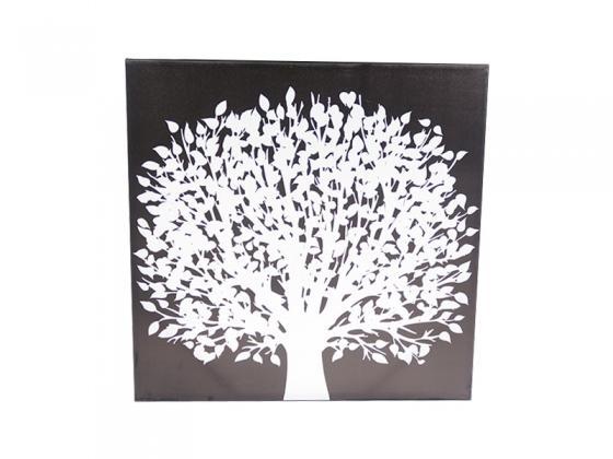 White tree art main image