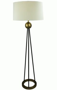 Tall Lamp With Large Shade main image