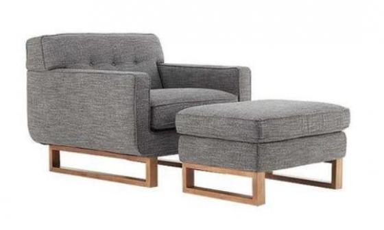 Kasala Chair & Ottoman main image
