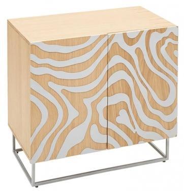 Zebra Wave Cabinet
