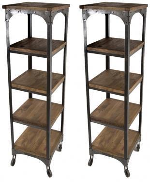 Rustic Tower Shelves main image