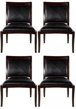 Leather Black Chairs main image