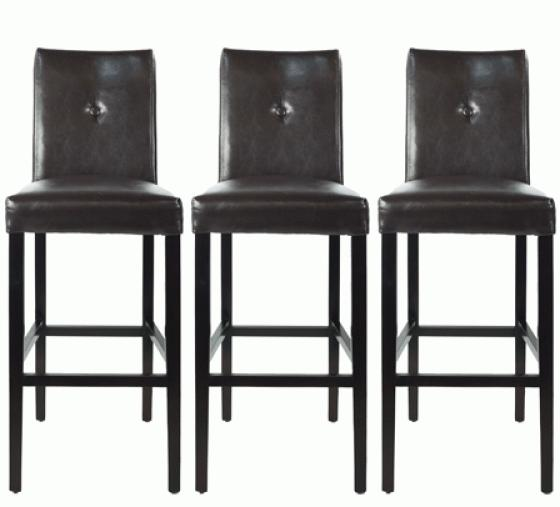 Bar Height Brown Stools main image