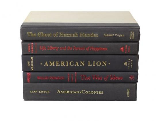 Black, Red and Gold Binding Book Set main image