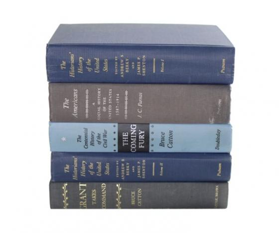 Blue History Book Set main image