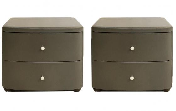 Modern Leather Nightstands main image