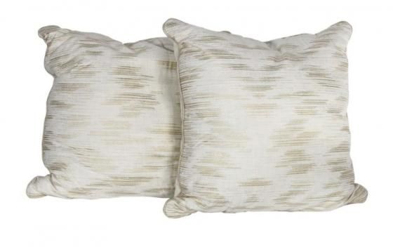 Large Cream and Gold Pillows main image