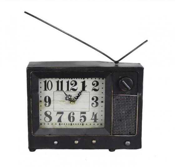Metal Radio Clock  main image