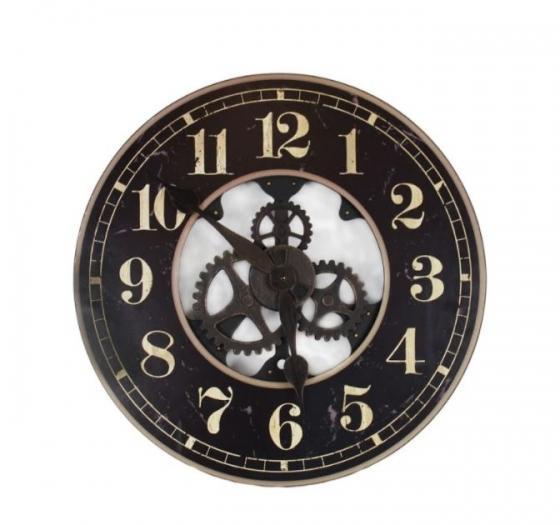 Black and Gold Clock main image