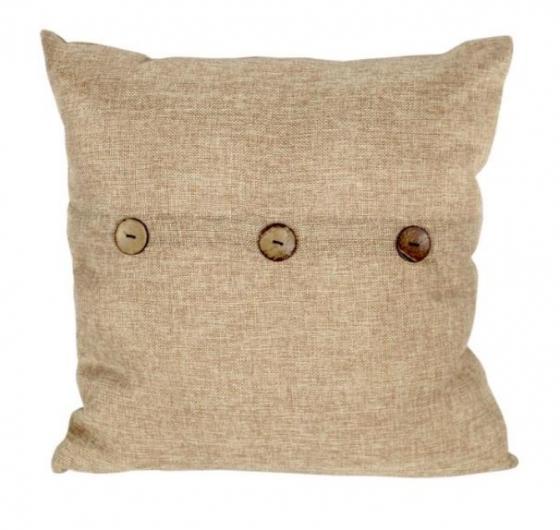Tan Pillow W/ Buttons main image