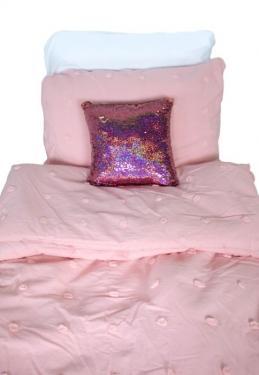 Twin Pink Bedding Set main image